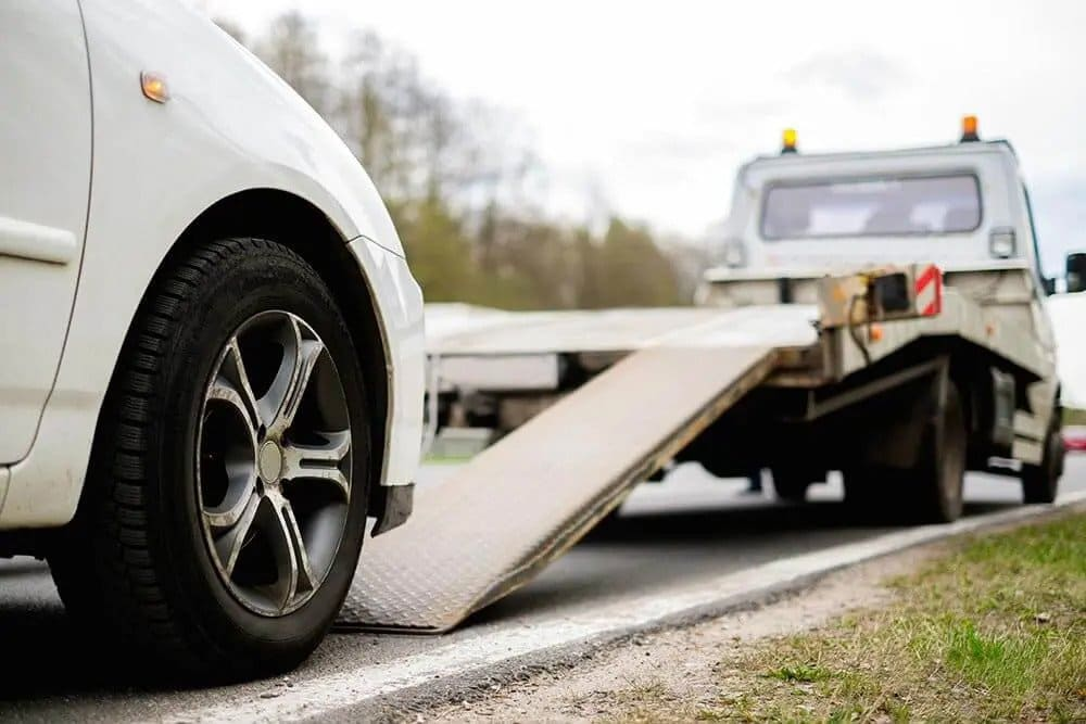 Free tow at Cash for clunkers