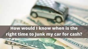 Can I Junk My Car for Cash?